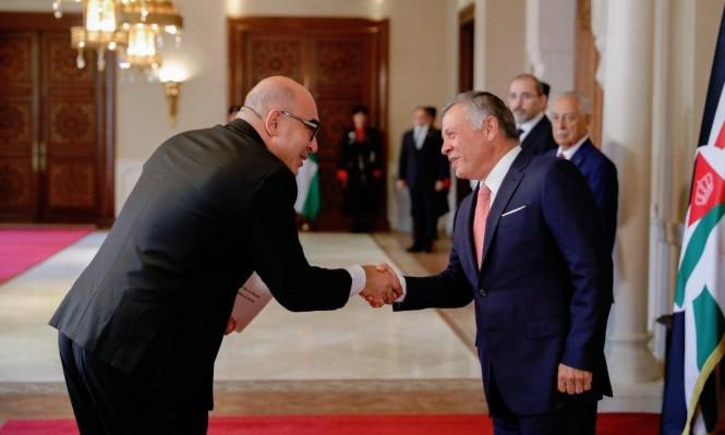 من هو السفير الإسرائيلي الجديد لدى الأردن؟