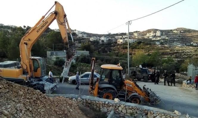 اعتقالات بالضفة والقدس وهدم 5 منازل بالولجة والخليل