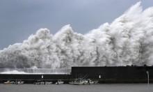 """""""جيبي"""" يهيّج البحر في اليابان"""
