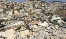 جرافات الاحتلال تهدم منزلين في سلوان وبيت حنينا