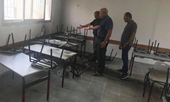 اللقية: اعتداء على مدرسة افتتحت قبل أسبوع