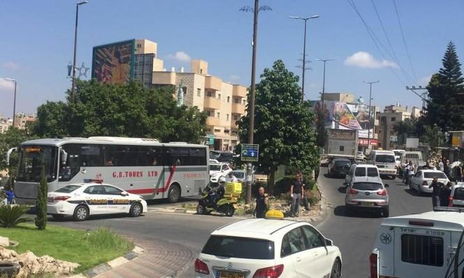 يافة الناصرة: اعتقال 3 شبان بشبهة إطلاق نار
