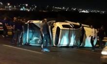 الطيبة: 3 مصابين في حادث طرق