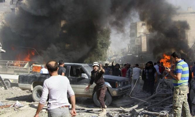 مع استمرار النزوح: غارات للنظام وروسيا على مشارف إدلب