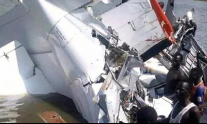 مصرع 20 شخصا في تحطم طائرة جنوب السودان