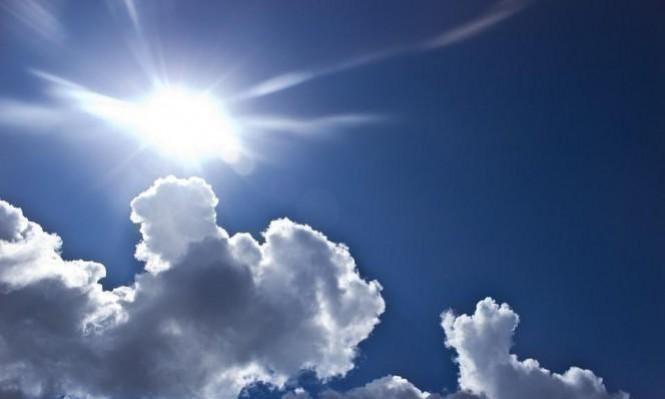 حالة الطقس: غائم جزئيا وارتفاع طفيف على درجات الحرارة