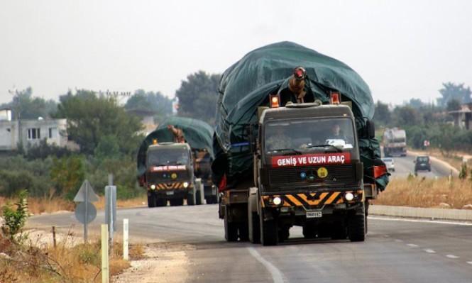 تركيا تستنفر قوات للحدود وتحذر من الهجوم على إدلب