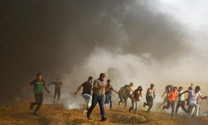 الاحتلال يستهدف شبانا ونقطة رصد للمقاومة بغزة