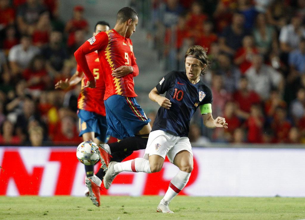 إسبانيا تسحق كرواتيا بنصف دزينة من الأهداف