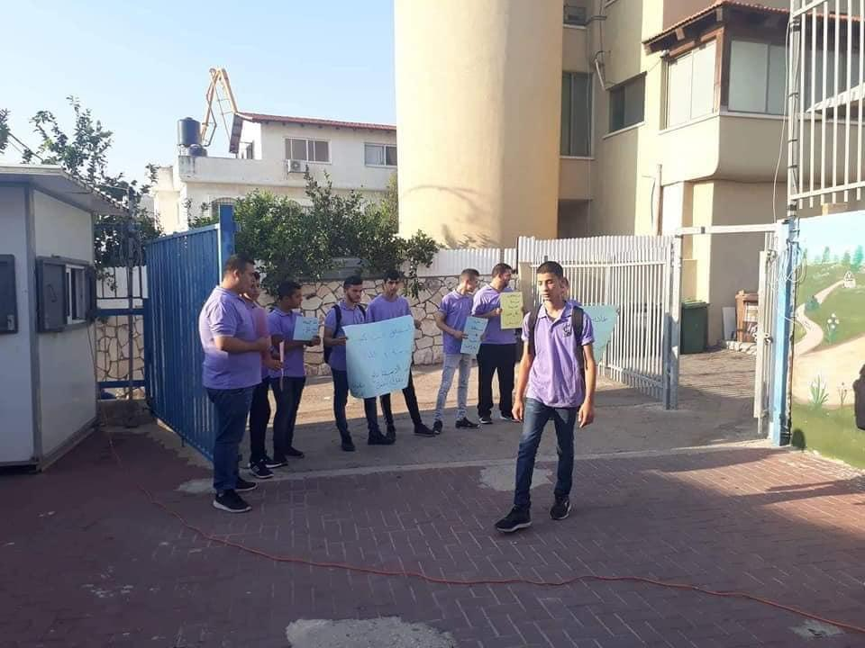 جت: طلاب الثانوية يطالبون المدير بالعدول عن استقالته
