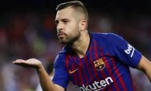 برشلونة يستعد لتلبية مطلب لاعبه ألبا