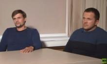 الروسيان المتهمان بمحاولة قتل سكريبال يظهران في مقابلة