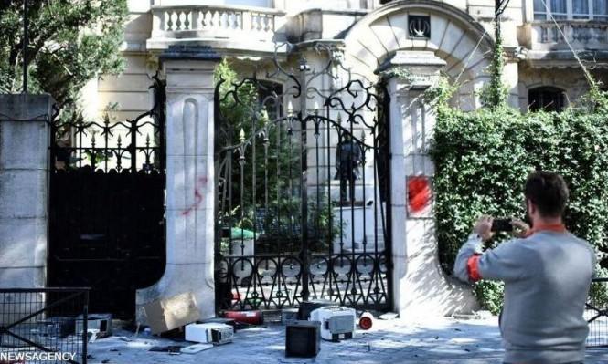 """إيران تتهم السلطات الفرنسية بعدم """"الاستجابة سريعا"""" للهجوم على سفارتها"""