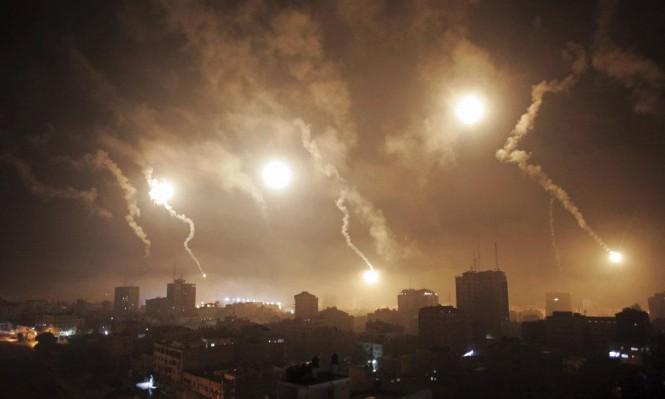 الاحتلال يقصف موقعا للمقاومة جنوبي قطاع غزة
