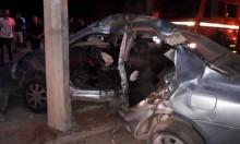 مصرع شاب وإصابة خطيرة بحادث طرق ذاتي باللقية