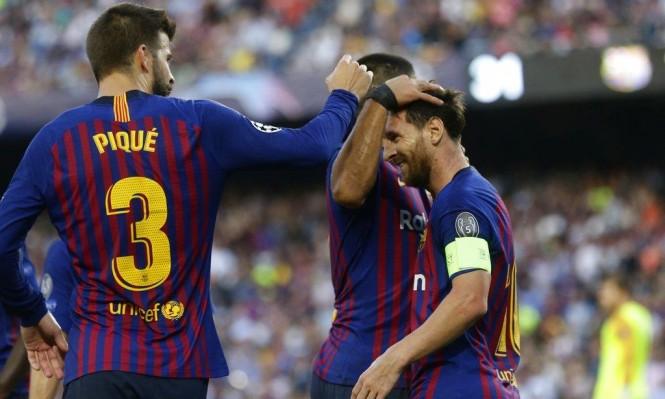 هاتريك لميسي: برشلونة يسحق آيندهوفن بدوري الأبطال