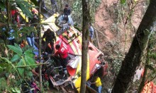 الإكوادور: مصرع 12 وإصابة العشرات في سقوط حافلة