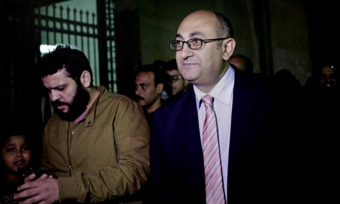 """تأييد حبس الحقوقي المصري خالد علي مع """"وقف التنفيذ"""""""