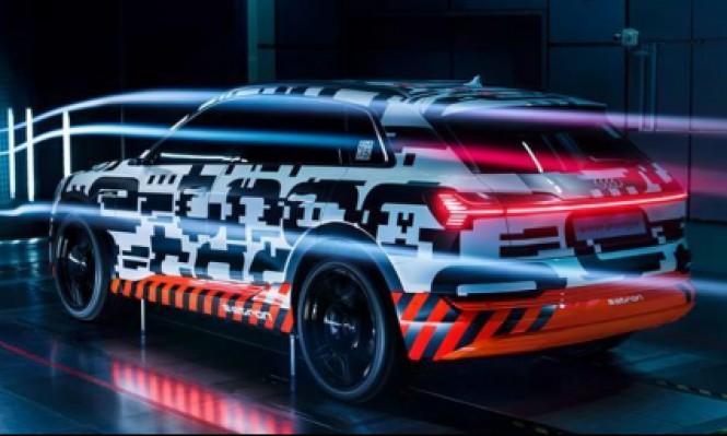 """منافسة ألمانية أميركية: """"آودي"""" تعلن عن سيارتها الكهربائية الجديدة"""