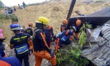 12 قتيلا و50 مفقودا بانزلاقات تربة  في الفلبين