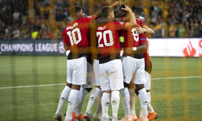 مانشستر يونايتد يفتتح مشواره بدوري الأبطال بالفوز
