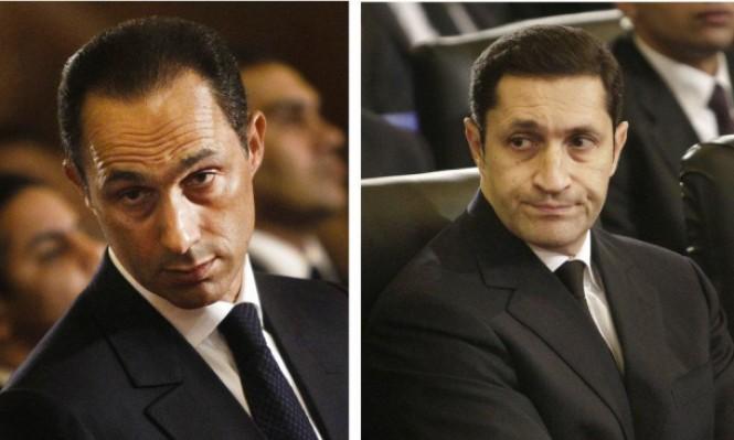 محكمة مصرية تقضي بالإفراج عن جمال وعلاء مبارك