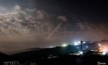 """""""سورية أطلقت عشرات الصواريخ بعد انسحاب الطائرات الإسرائيلية"""""""