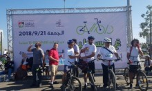 """""""رام الله ع البسكليت"""" تشجيعًا لاستخدام الدراجات الهوائية"""