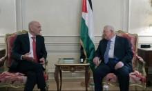 أولمرت يلتقي عباس ويؤكد أنه لم يعارض خطته