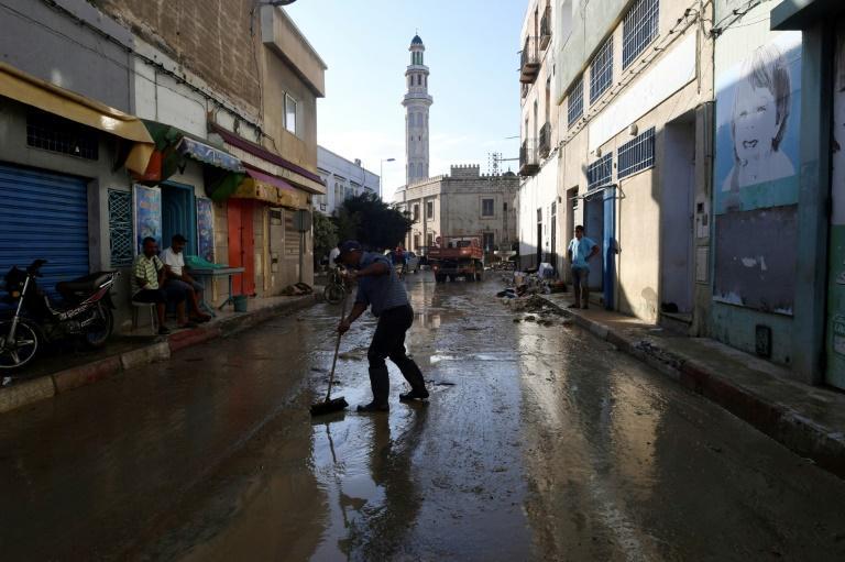 مصرع 4 في فيضانات اجتاحت شرقي تونس