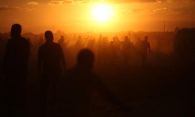"""مواجهات """"الإرباك الليلي"""": شهيد و14 إصابة بنيران الاحتلال في غزة"""