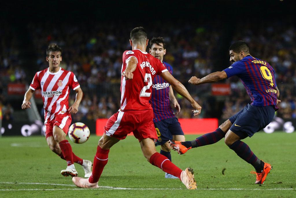 جيرونا يوقف انتصارات برشلونة