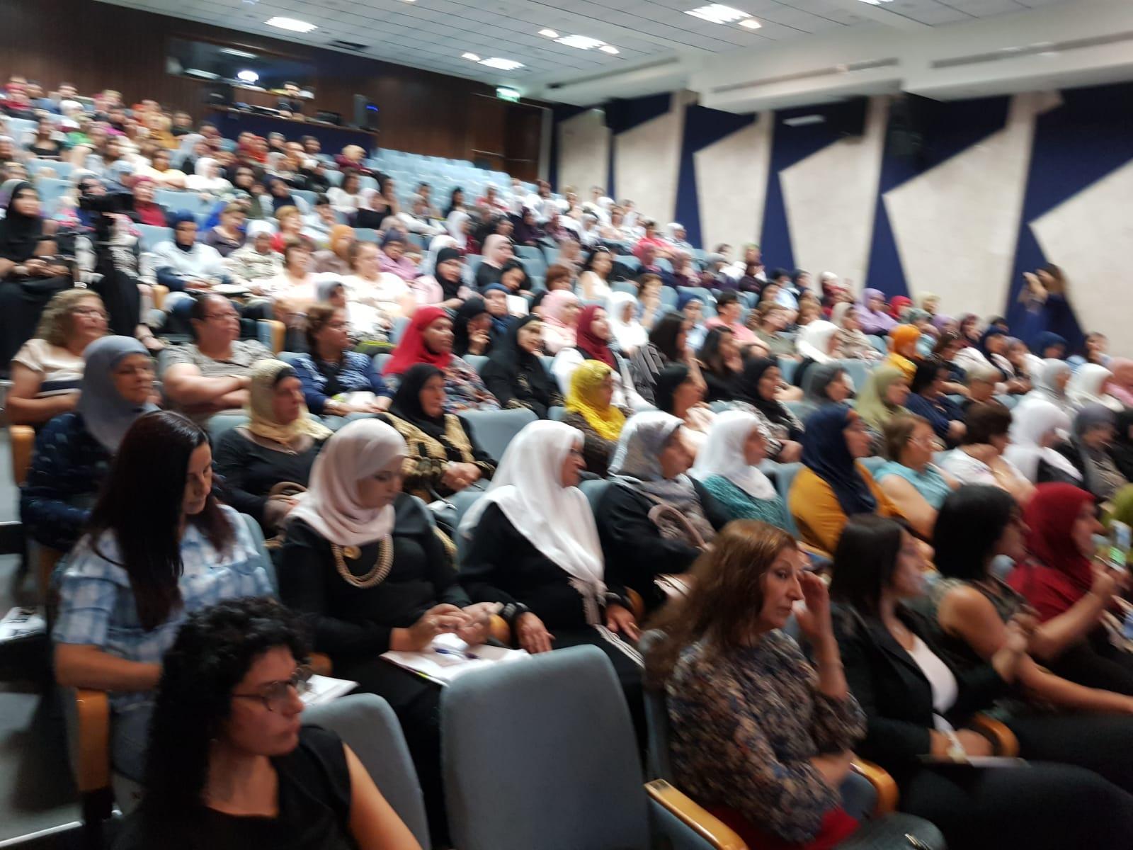 الناصرة: انعقاد مؤتمر كيان لتمثيل النساء في السلطات المحلية