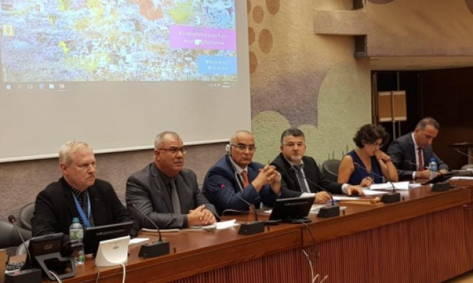 """لجنة المتابعة تطرح مخاطر """"قانون القومية"""" في مجلس حقوق الإنسان"""