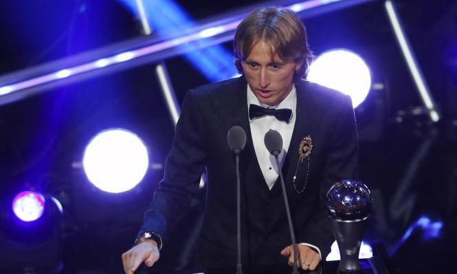 مودريتش يحصد جائزة أفضل لاعب بالعالم
