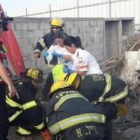 3 إصابات في حادثي عمل وطرق بحيفا وكفر برا