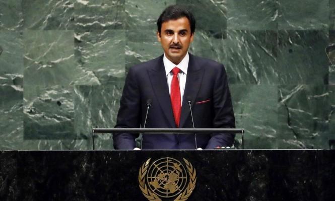 أمير قطر: لن نتردد في تقديم الدعم للشعب الفلسطيني
