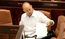 """بينيت يهاجم ليبرمان: """"ضعيف في مواجهة حماس"""""""