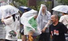 """إعصار """"ترامي"""" يجتاح اليابان ويعطل رحلات جوية"""