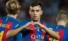 برشلونة يعتزم تجديد عقد الحدادي