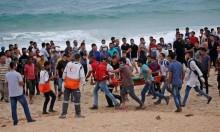 37 إصابة بالرصاص الحي في مواجهات شمالي قطاع غزة
