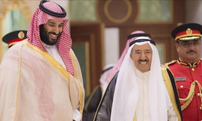 بن سلمان يبحث بالكويت الإمدادات النفطية وأزمة حصار قطر