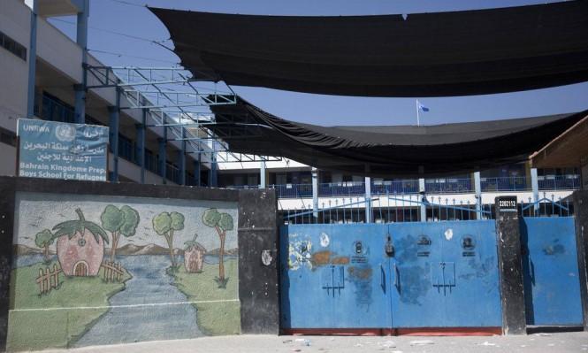 مؤسسات الأونروا بغزة تعلن إضرابا شاملا