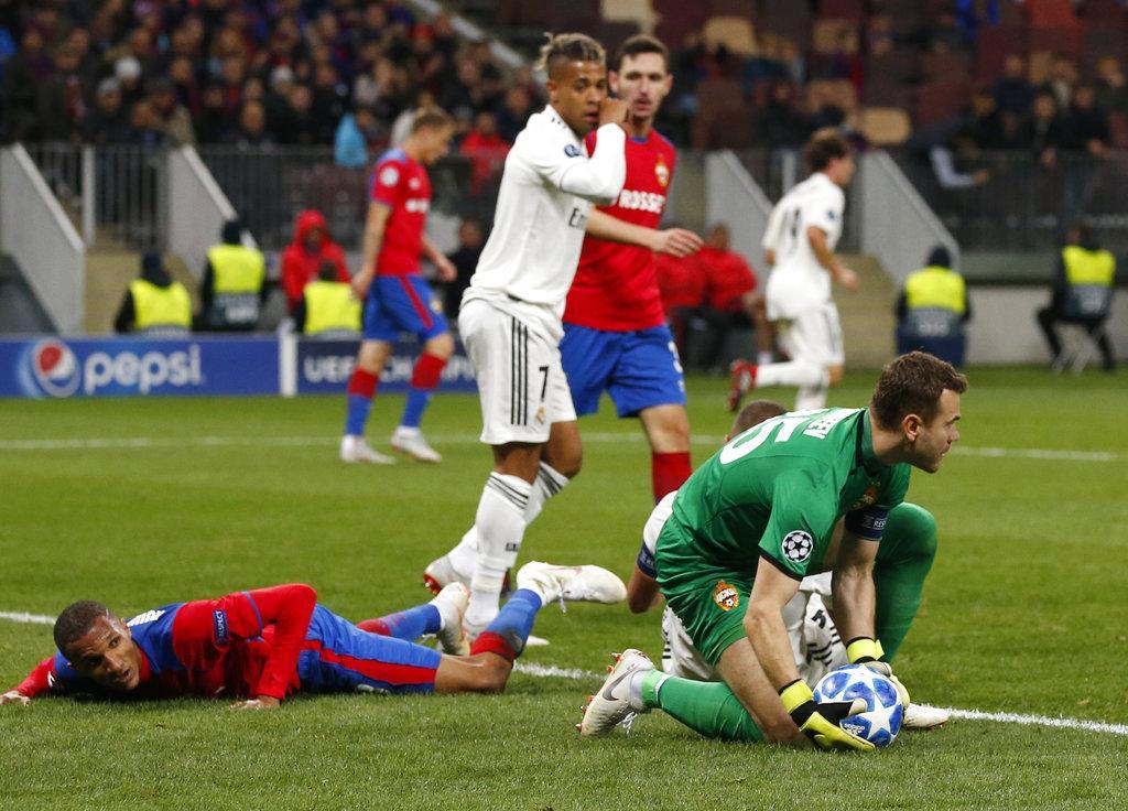 ريال مدريد يسقط أمام سسكا موسكو