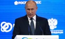 بوتين: السعي لانسحاب القوات الأجنبية بما فيها الروسية من سورية