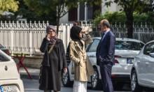 خطيبة خاشقجي تعتصم أمام القنصلية السعودية في اسطنبول