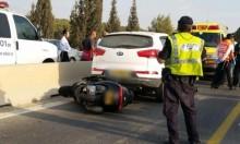 مصرع سائق دراجة نارية في حادث وسط البلاد