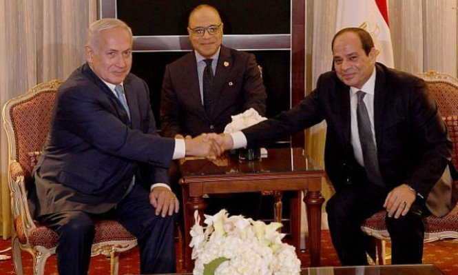 حكومة إسرائيل تسيطر على ضخ الغاز إلى مصر