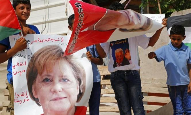 ميركل تهدد بإلغاء زيارتها لإسرائيل إذا هدمت الخان الأحمر