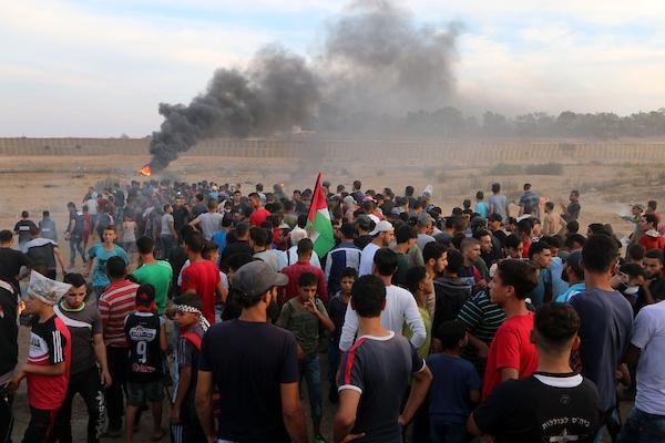 غزة: 3 شهداء و376 إصابة برصاص الاحتلال